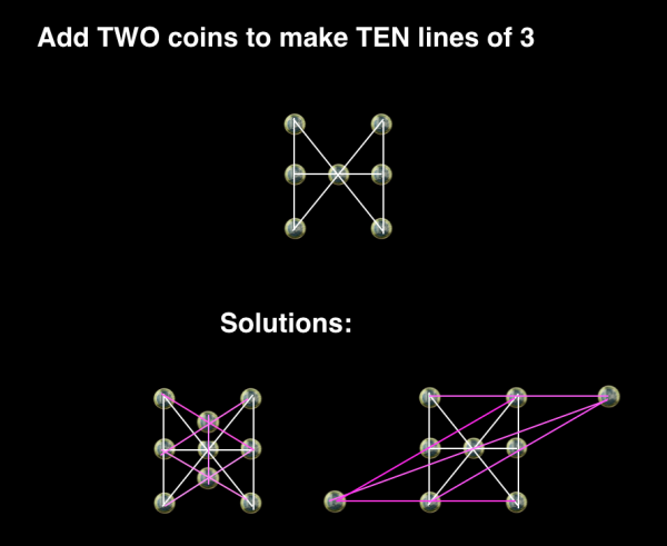 The H-Coins puzzle