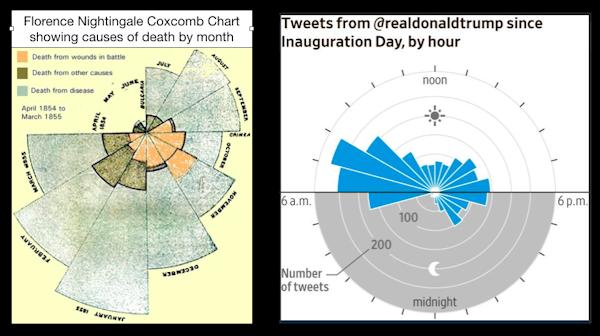 The hidden maths of the coxcomb chart