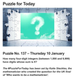 The Mystery of Phantom Puzzle No.137