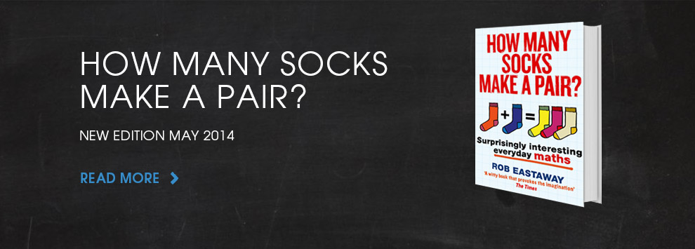 How many socks make a pair?